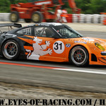 N°31 - SEEFRIED Marco - RENZ Karl - Porsche 997 RSR - Stadler Motorsport - GT/Tourisme - Série V de V FFSA DIJON 2012