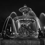 La fontaine de la place de la Concorde Paris
